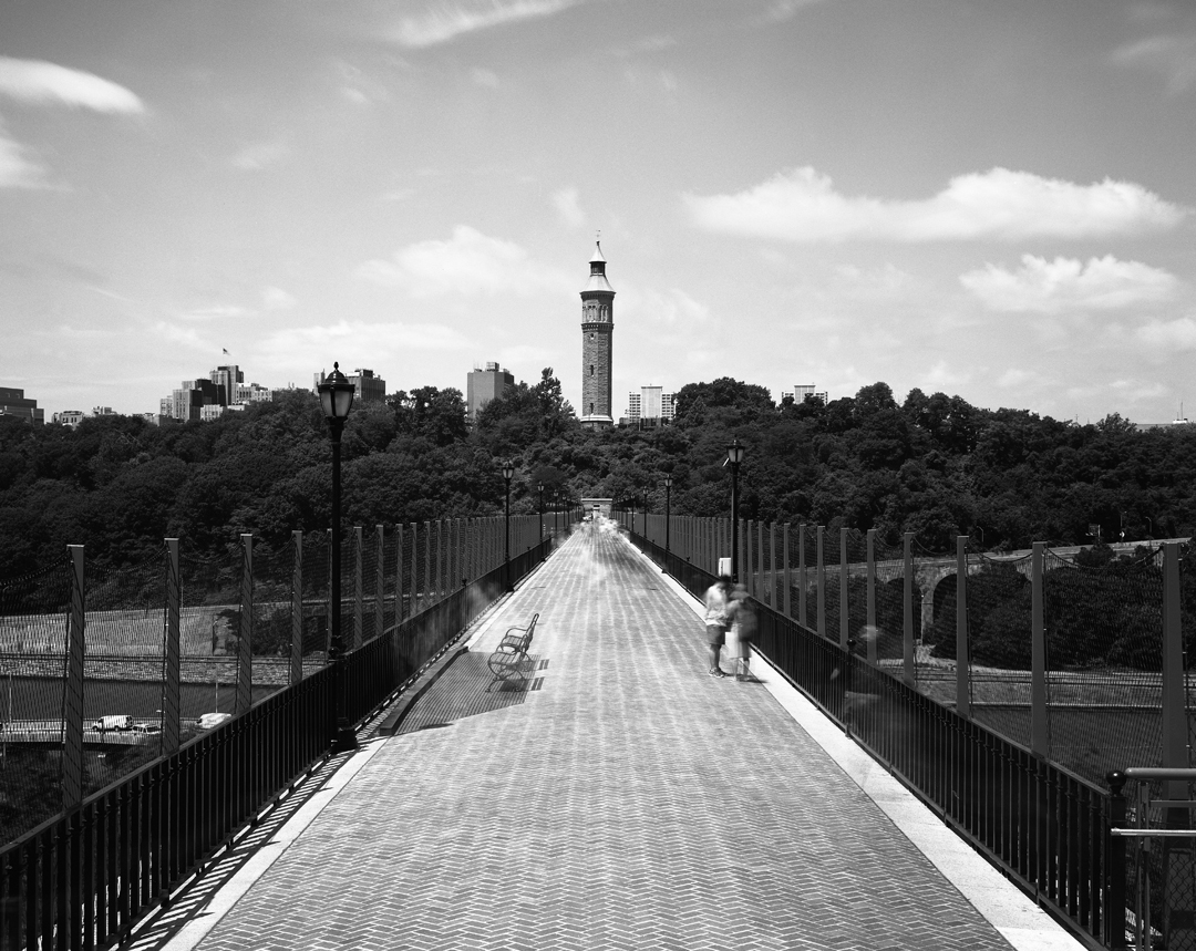 High Bridge over the Harlem River, Bronx and Manhattan, New York City
